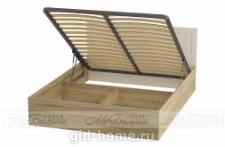 Кровать двухспальная  Маркиза КР-02 1636x895x2060 фото