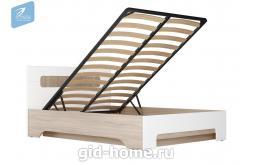 Кровать двухспальная с подъемным  механизмом Палермо-3  Д1660хВ900хГ2060 мм
