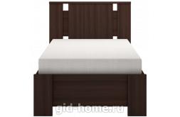 Кровать односпальная 900 мм (с латами) Скандинавия №10 2124×970×937
