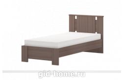 Кровать односпальная 900 мм (с латами) Скандинавия №10 2124×970×937 фото