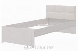 Кровать односпальная №4 Твист 2080×972×829