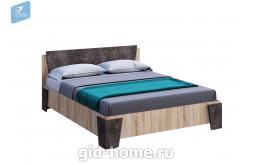 Кровать  Санремо Д1670хВ850хГ2048 мм