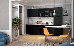 Кухня Монс Графит