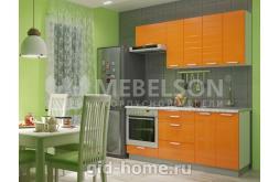 Кухня Виктория оранж
