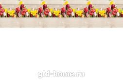Кухонный фартук из АБС пластика Романтика