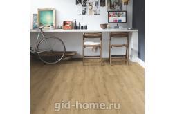 Ламинат Quick-Step Classic Дуб натуральный рустикальный в интерьере