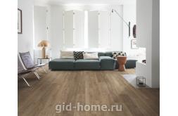 Ламинат Quick-Step Perspective Дуб природный коричневый в интерьере