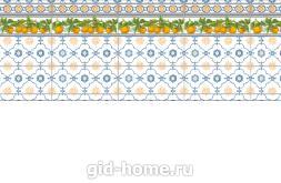Кухонный фартук из ABS пластика Лимончелло