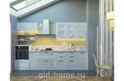Модульная кухня в стиле лофт Фиеста сосна беленая