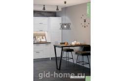 Модульная кухня в стиле лофт Фиеста сосна беленая фото 1