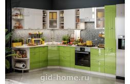 Модульная кухня Виола Нео Фрезеровка Бриз