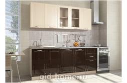 Модульная кухня Виола Нео Фрезеровка Грани 3