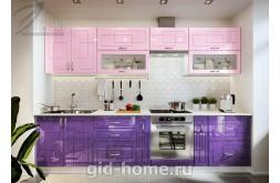 Модульная кухня Виола Нео Фрезеровка Клетка