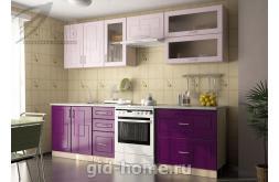 Модульная кухня Виола Нео Фрезеровка Клетка 1