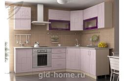 Модульная кухня Виола Нео Фрезеровка Клетка 2