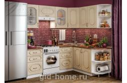 Модульная кухня Виола Нео Фрезеровка Премьера