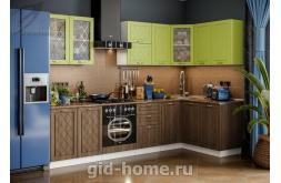 Модульная кухня Виола Нео Фрезеровка Прованс 3