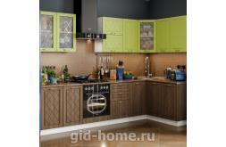 Модульная кухня Виола Нео Фрезеровка Прованс 6