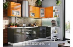 Модульная кухня Виола Нео Фрезеровка Тигра узкая