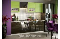 Модульная кухня Виола Нео Фрезеровка Тигра узкая фото 2