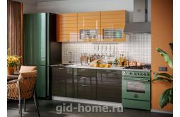 Модульная кухня Виола Нео Фрезеровка Тигра узкая фото 3