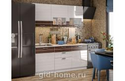 Модульная кухня Виола Нео Фрезеровка Тигра узкая фото 4