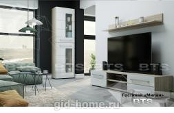 Модульная стенка в гостиную Милан  фото 3
