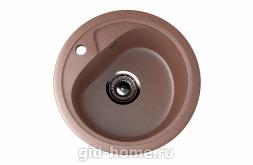 Мраморная мойка для кухни EcoStone ES-10 307 Терракотовый