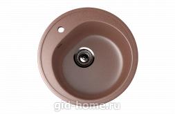 Мраморная мойка для кухни EcoStone ES-11 307 Терракотовый