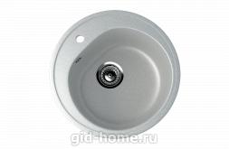 Мраморная мойка для кухни EcoStone ES-11 310 Серый