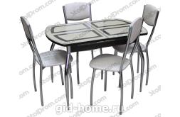 Обеденная группа стол и стулья  № 3