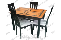 Обеденная группа стол и стулья  № 8