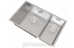 Мойка для кухни Оптима-НМ 460/220.400.20. фото 3