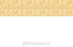 Кухонный фартук из ABS пластика Оранжевый пиксель