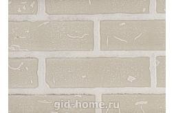 Панель листовая МДФ Кирпич с тиснением Белый