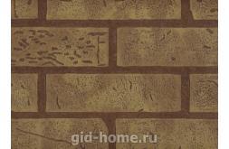 Панель листовая МДФ Кирпич с тиснением Желтый