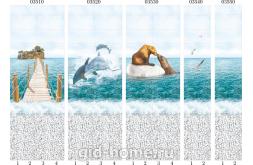 Панели ПВХ Panda Море