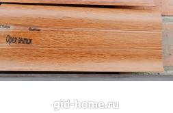Плинтус пластиковый широкий Орех Антик в Ростове на Дону