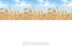 Кухонный фартук из ABS пластика Пшеница