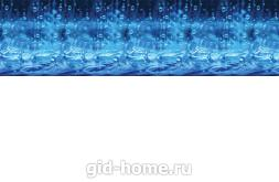 Кухонный фартук из ABS пластика Сезон дождей