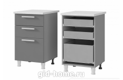 Шкаф – стол с 3-мя ящиками 5Р3 Бьянка ШхВхГ500x820x500
