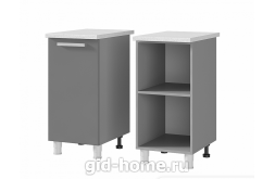 Шкаф стол рабочий 1-дверный 4Р1 400x820x500 Люкс  Ирис