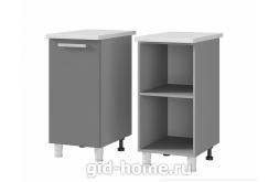 Шкаф стол рабочий 1-дверный 4Р1 400x820x500 Шоколад