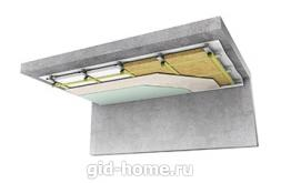 Шумоизоляция, звукоизоляция потолка в Ростове на Дону