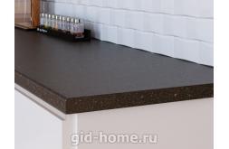 Столешница Кедр для кухни ДСП 4059 S черная бронза фото