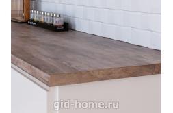 Столешница Кедр для кухни ДСП 7354 S Stromboli brown фото