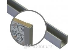 Торцевая планка для стеновой панели 6 мм
