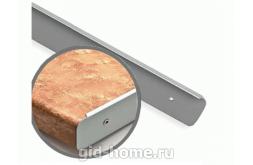 Торцевая планка  для столешниц  38 мм