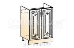 Венеция шкаф рабочий под мойку L600 (2 двери глухие)
