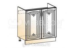Венеция шкаф рабочий под мойку L800 (2 двери глухие)